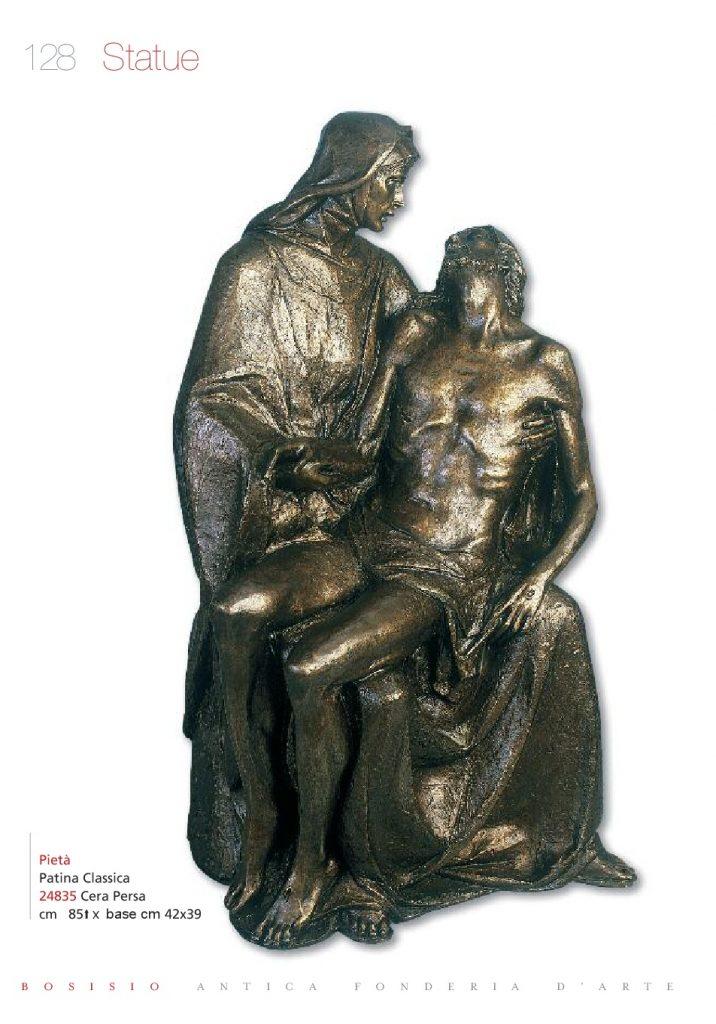 statua per cappelle cimiteriali moderne