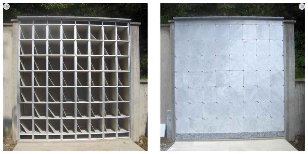 Ossari in alluminio di punta