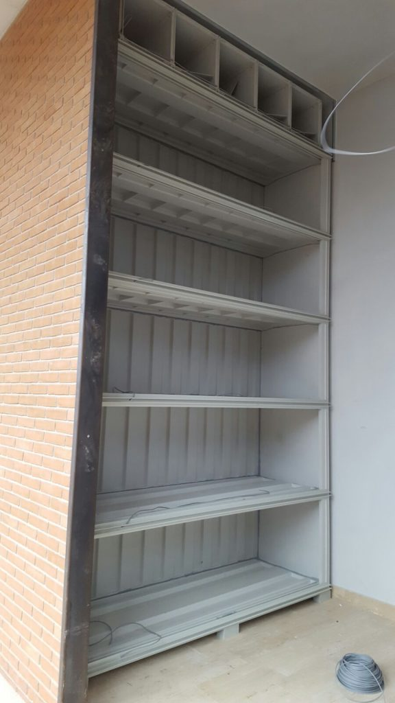 Q-Box Loculi di Fascia in Vetroresina